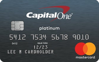 Capital One Secured Mastercard® 押金信用卡