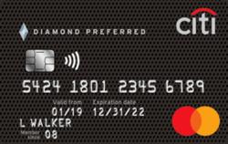 Citi® Diamond Preferred® Card 无年费信用卡