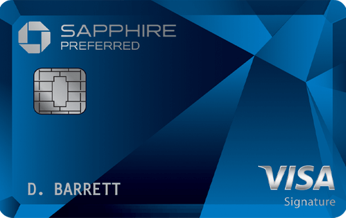 Chase Sapphire Preferred® Card 信用卡