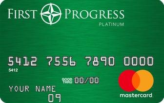 First Progress Platinum Elite Mastercard® Secured Credit Card 押金信用卡
