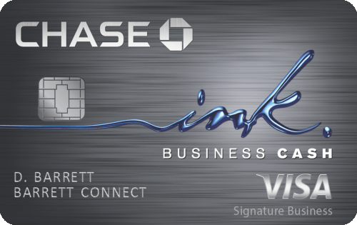 Chase Ink Business Cash® Credit Card 商业信用卡