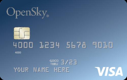 OpenSky® Secured Visa® Credit Card 信用卡