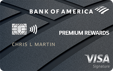Bank of America® Premium Rewards® credit card 信用卡