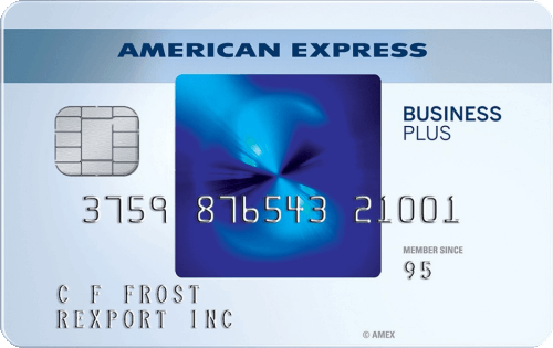 AMEX 运通信用卡 The Blue Business® Plus Credit Card
