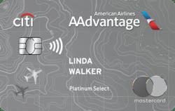 Citi® / AAdvantage® Platinum Select® World Elite Mastercard® 航空信用卡