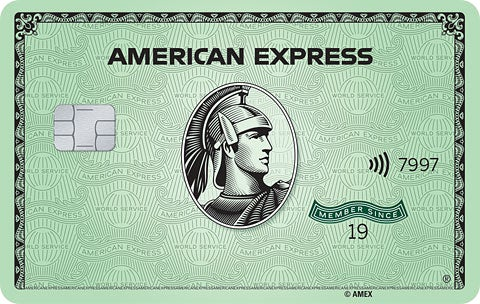American Express Green Card 美国运通绿卡