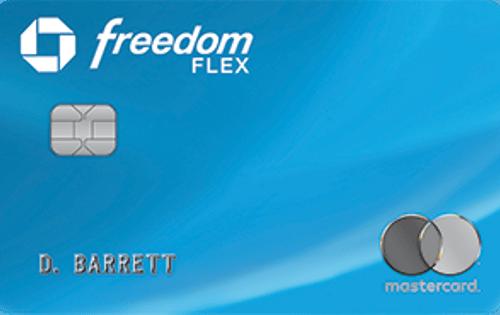 Chase Freedom Flex℠ 信用卡
