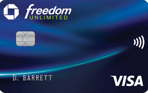 Chase Freedom Unlimited® 信用卡