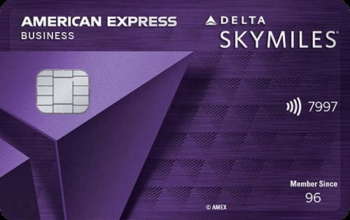 Delta SkyMiles® Reserve Business AMEX 商业信用卡