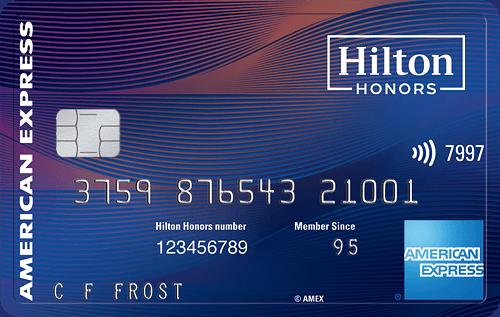 Hilton Honors Aspire® Card 酒店信用卡