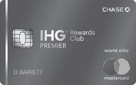 IHG® Rewards Club Premier Credit Card 酒店信用卡