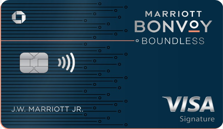 Marriott Bonvoy Boundless™ Credit Card 酒店信用卡