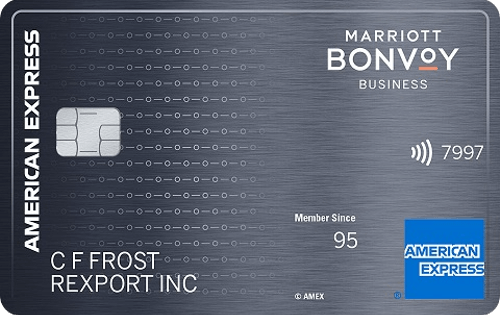Marriott Bonvoy Business™ AMEX 商业信用卡