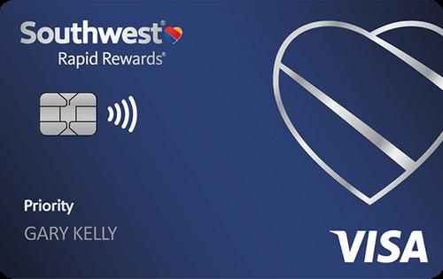 Southwest Rapid Rewards® Priority Credit Card 航空信用卡