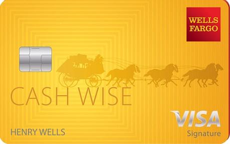 Wells Fargo Cash Wise Visa® 信用卡
