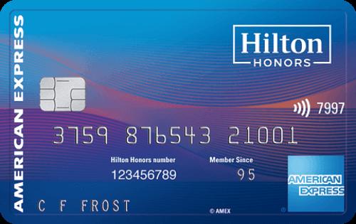 Hilton Honors Surpass® Card 酒店信用卡